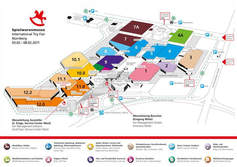 Nuremberg Toy Fair 2020.How To Find Your Way Around The Spielwarenmesse Nuremberg