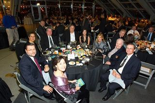TAGI Awards Phil Jackson table