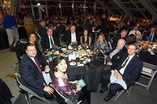 TAGI Awards Phil Jackson table