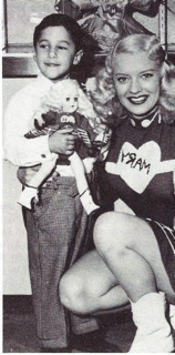 Richie Weintraub and Mary Hartline at Toy Fair 1951