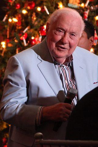 TAGIE Awards 2010 Reuben toasting Eddy