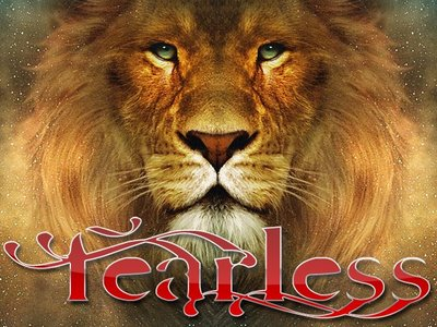 Fearless - lion