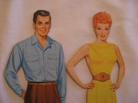 Lucy and Desi Paper Dolls