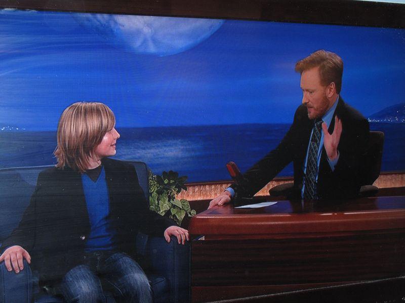 Greyson with Conan