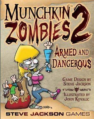 Munchkin zombies board game