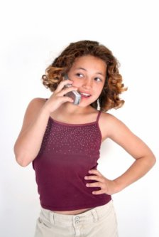Girl-on-cell-phone
