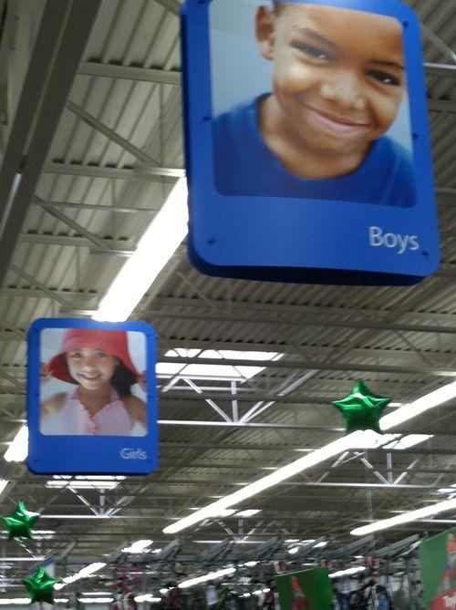 Walmart boys and girls