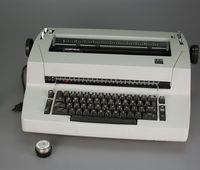 IBM Selectric II, IBM 1985, Gift of Richard Sherin, Courtesy of The Strong