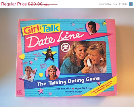 Dating board game 80s