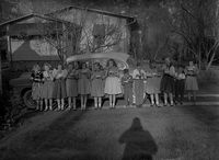 Group of Children, 1951, Courtesy of the Library of Virginia