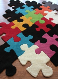 Office ideas puzzle carpet
