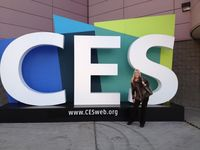 Suzanne Mills Winkler at CES 2013
