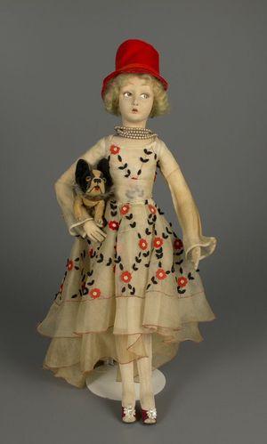 Lenci Doll, 1927, Artist Elena Scavini, Courtesy of The Strong, Rochester, NY