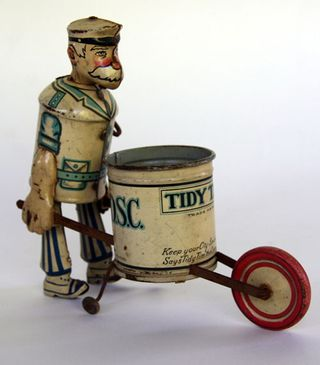 Tidy_Tim_Antique_Tin_Windup_Toy