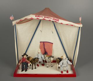 Humpty Dumpty Circus, Figure Set, The Humpty Dumpty Toy Co. 1950-1952