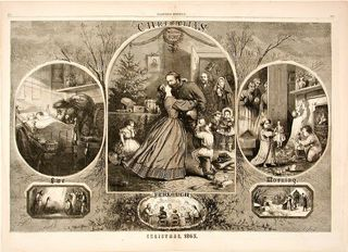 Christmas 1863, by Thomas Nast, Courtesy of The Strong, Rochester, NY