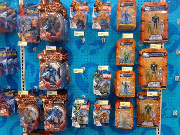 Visiting The Action Figure Toy Aisle Global Toy News