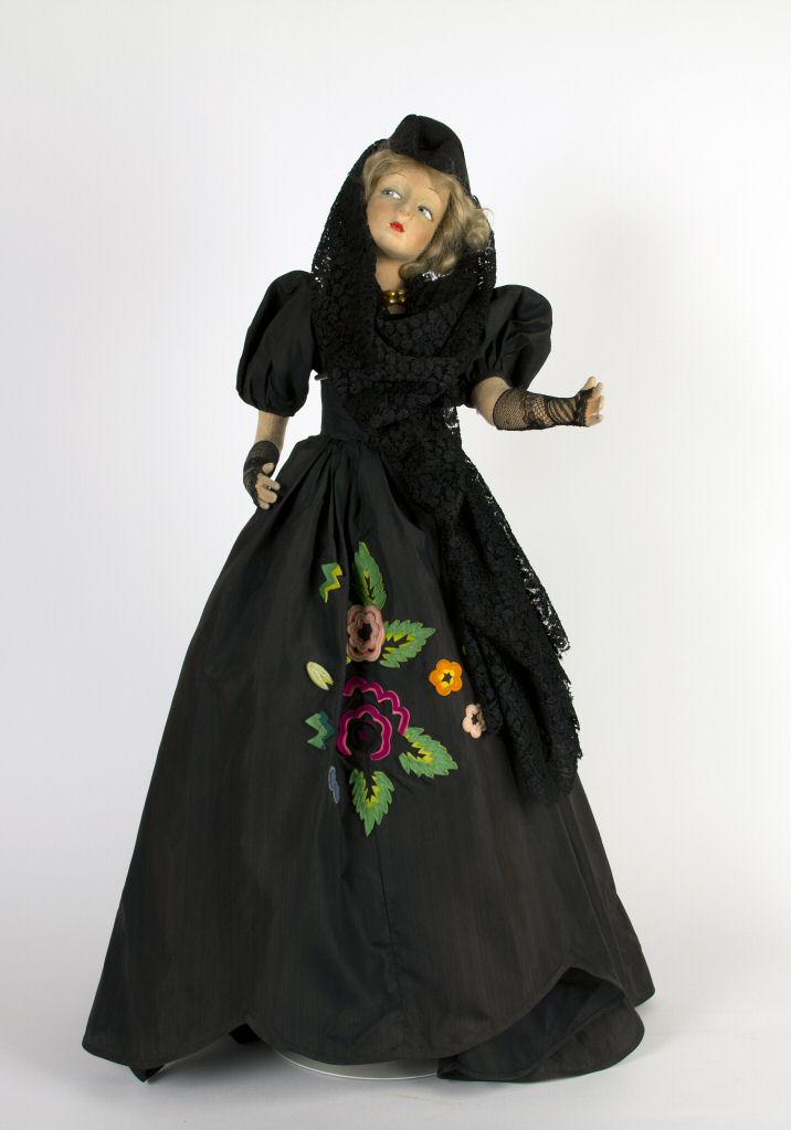 Boudoir, Lenci Doll, 1925, Courtesy of The Strong, Rochester, NY