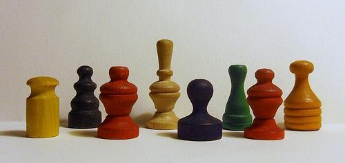 Woodenmonopolyplayingopieces