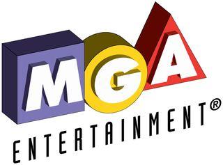 MGA Logo white