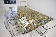 Office idea lego table