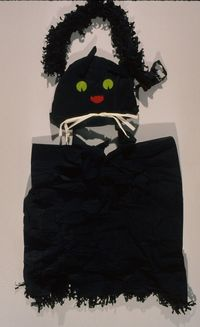 Halloween Costume, Black Cat, 1945, Courtesy of The Strong, Rochester, NY