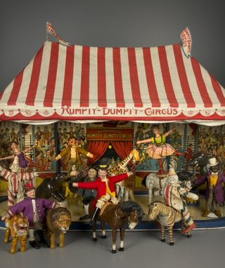 Example of the Humpty Dumpty Circus Play Set, A. Schoenhut Co., 1920. Courtesy of The Strong, Rochester, NY