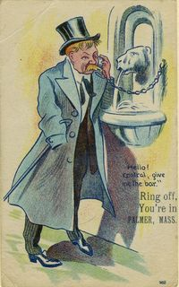Ring Off, You're in Palmer, Mass., From 1914, Courtesy of The Strong, Rochester, NY