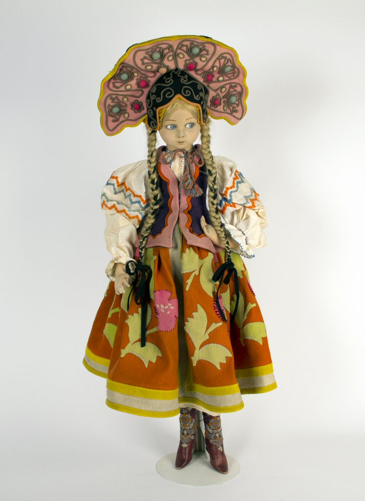 Russian Dancer, Lenci, 1925, Courtesy of The Strong, Rochester, NY