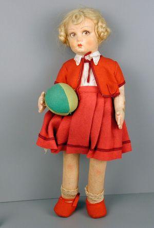Lenci Italian Girl, 1930, Courtesy of The Strong, Rochester, NY