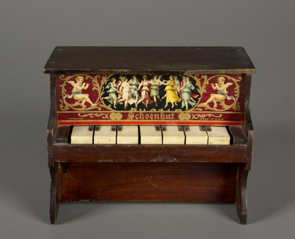 Upright Piano, 1900, Schoenhut, Courtesy of The Strong, Rochester, NY