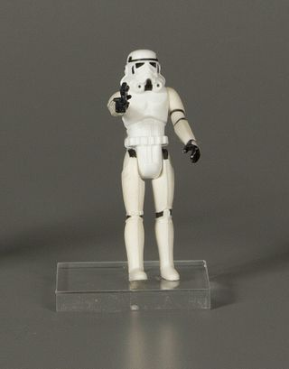 Vintage Star Wars Stormtrooper Action Figure, 1978, Courtesy of The Strong, Rochester, NY