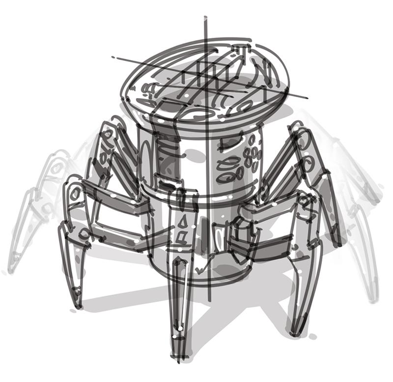 SAPULICH HEXBUG SPIDER