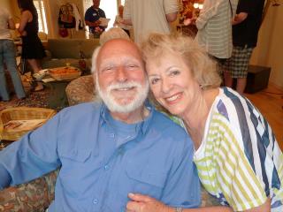 Howard and Pauline Morrison 2013