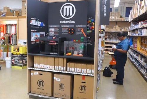 MakerBot 3D Printer Display