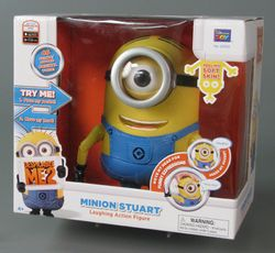 Despicable Me 2 Minion Stuart figure, 2013, courtesy of The Strong, Rochester, New York.