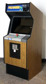 Frogger arcade game, 1981, courtesy of The Strong, Rochester, New York.