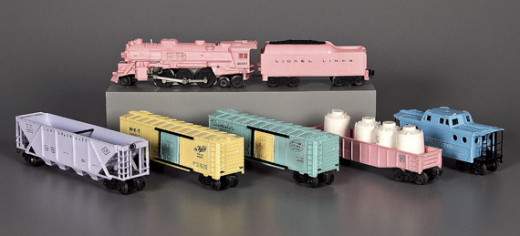 Lionel train for girls, 1957. Courtesy of The Strong, Rochester, New York.