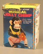 Musical Jolly Chimp, about 1960, courtesy of The Strong, Rochester, New York.