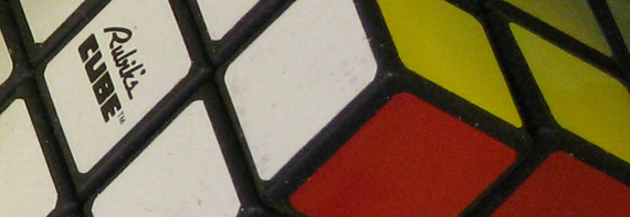 Detail, Rubik's Cube, 1980. Courtesy of The Strong, Rochester, New York.