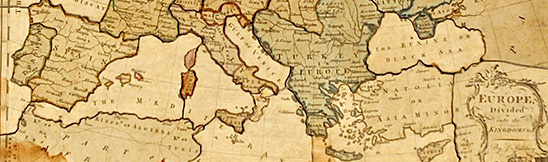 Puzzle, 1766, Europe Divided Into Its Kingdoms, Courtesy of The Strong, Rochester, New York (detail)