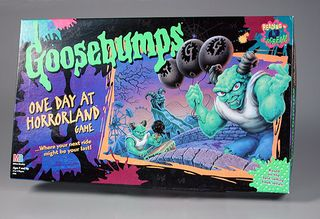 Goosebumps One Day at Horrorland board game, 1996, The Strong, Rochester, New York.