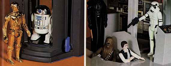 Kenner Star Wars action figure advertisement (detail), Courtesy of The Strong, Rochester, New York