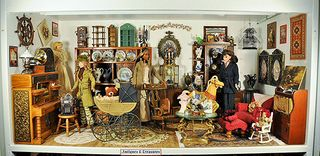 Miniature  room, Antique Shop by Julie Connor, ca. 1990's, The Strong, Rochester, New York
