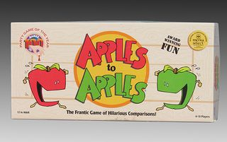 Apples to Apples, Card Game, 2000, The Strong, Rochester, New York