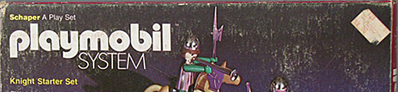 Playmobil Knight Starter Set, play set (detail), 1976, The Strong, Rochester, New York