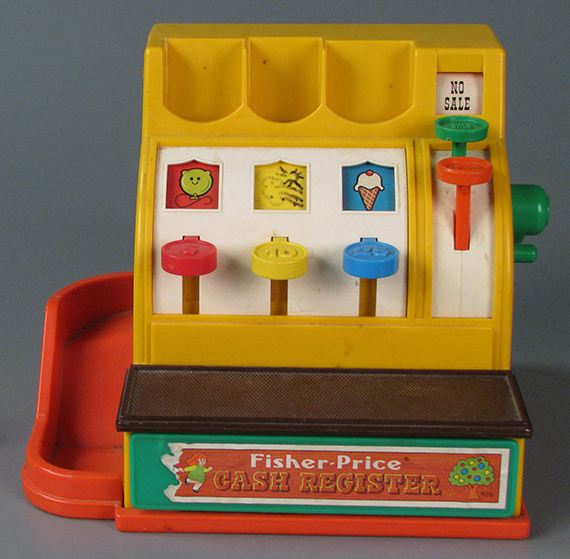 Cash Register, Fisher-Price, 1973, The Strong, Rochester, New York
