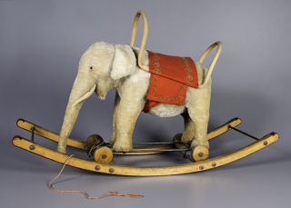 Stuffed animal, Margarete Steiff, about 1915, The Strong, Rochester, New York