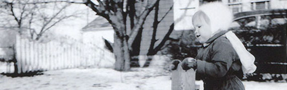 Wendy in the Snow  photograph (detail)  about 1954. Gift of William Tribelhorn  Rochester  New York