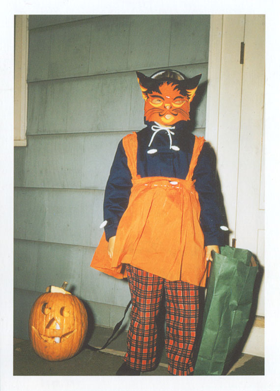 Wendy in her  Halloween Costume  Photograph  1957.Gift of William Tribelhorn  The Strong  Rochester  New York